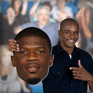 Andre Johnson Big Head Cut Out